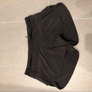 """lululemon athletica Shorts - Lululemon Black Speed Up Shorts 2.5"""" Inseam"""